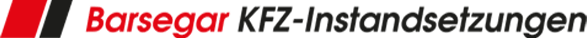 Barsegar KFZ-Instandsetzungen - Logo